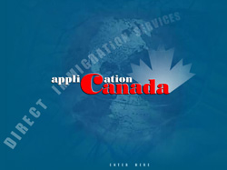 Cайт компании APPLICATION CANADA